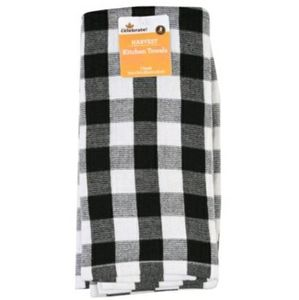 Buffalo Check Kitchen Towels Set of Two